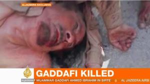 la proxima guerra gaddafi muerto libia